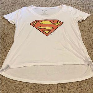 Superman vneck tshirt